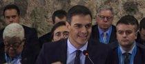"""Sánchez define la democracia como """"alternativa de esperanza"""""""