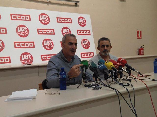 Alfredo Morales y Eugenio Duque