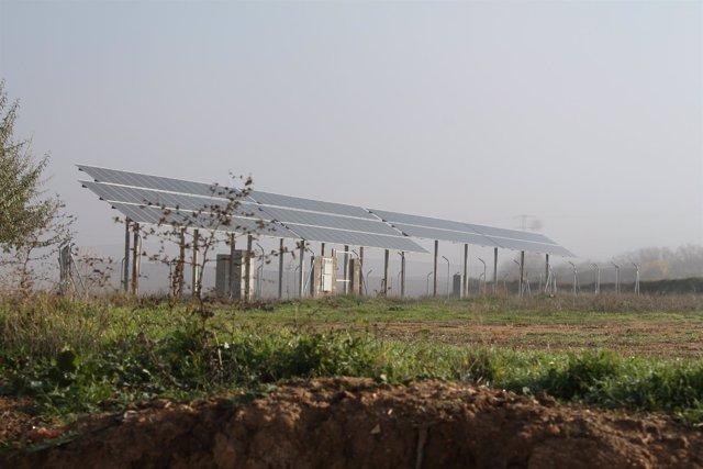 ENERGÍA PANEL SOLAR