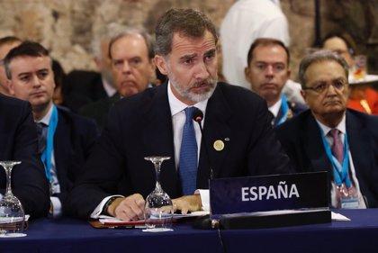 """El Rey de España pone la Constitución como """"ejemplo extraordinario de acuerdo, de pacto y reconciliación"""""""