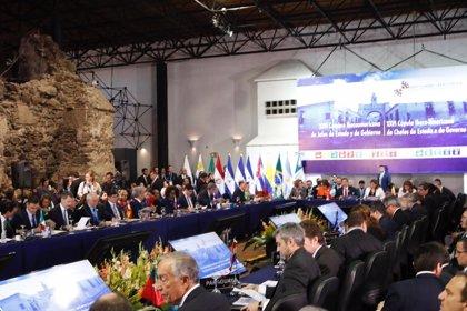 Los presidentes centroamericanos plantean a Sánchez y al Rey el problema migratorio en la región