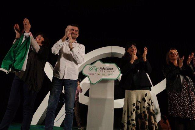 Acto de Adelante Andalucía en Trigueros