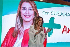 """Díaz critica que PP se ofenda ante """"lo bueno"""" para Andalucía"""