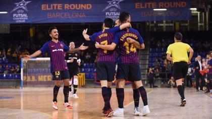 El Barça sigue con paso firme en la Ronda Élite tras derrotar al Bielsko-Biala