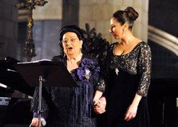 La família de Montserrat Caballé acomiada aquest dissabte a la diva amb un Rèquiem en la Catedral (Europa Press - Archivo)