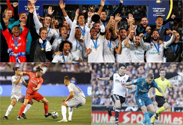 Real Madrid collage montaje