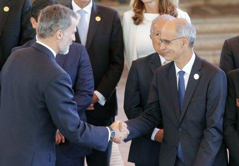 El cap de Govern d'Andorra, Toni Martí, a la Cimera Iberoamericana