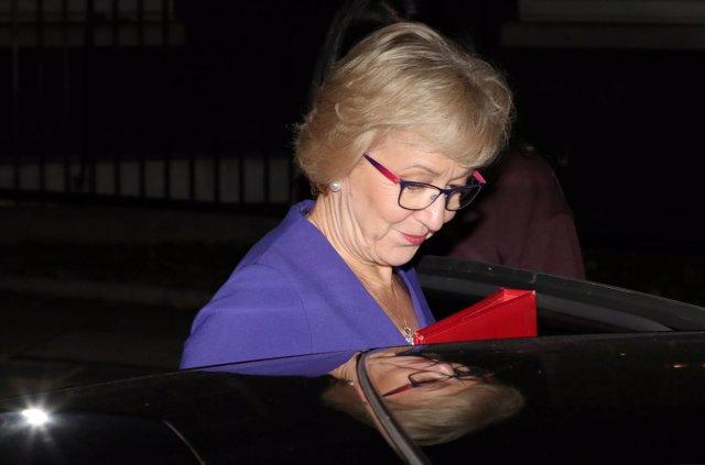 Andrea Leadsom, líder conservadora de la Cámara de los Comunes