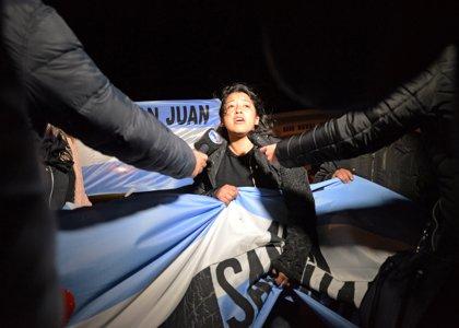 """Familiares de las víctimas del ARA San Juan: """"Si hay polvo en el submarino, que nos traigan polvo"""""""