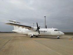 L'aeroport de Lleida serà la base de dos avions de l'aerolínia Lease-Fly Charter (GENERALITAT DE CATALUNYA)
