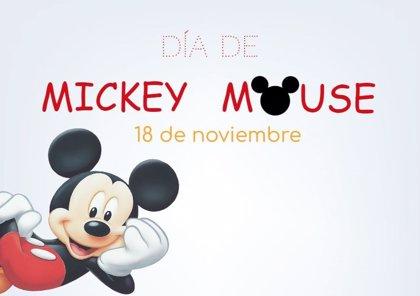 18 de noviembre: Día de Mickey Mouse, el ratón más famoso de la historia cumple 90 años