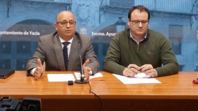 Luis Fernández y Antonio Puche DE CS