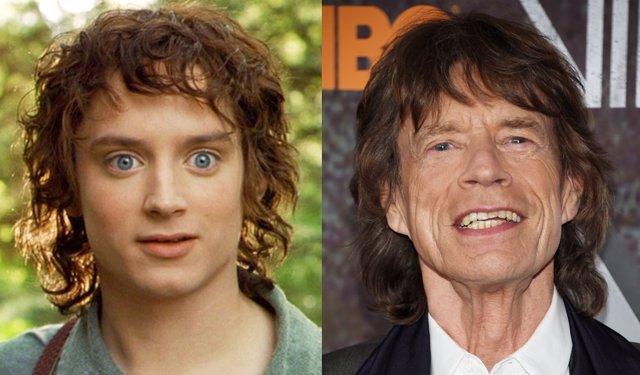 Frodo y Mick Jagger