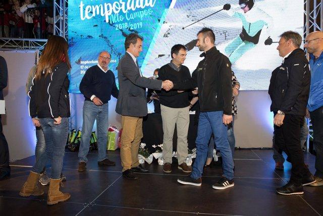 Acto de presentación de la nueva temporada en Alto Campoo