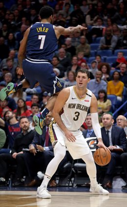 Nikola Mirotic New Orleans Pelicans Denver Nuggets Trey Lyles