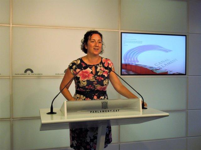 La diputada del PSC-Units Alícia Romero (Archivo)