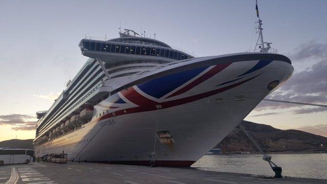 El crucero 'Ventura'
