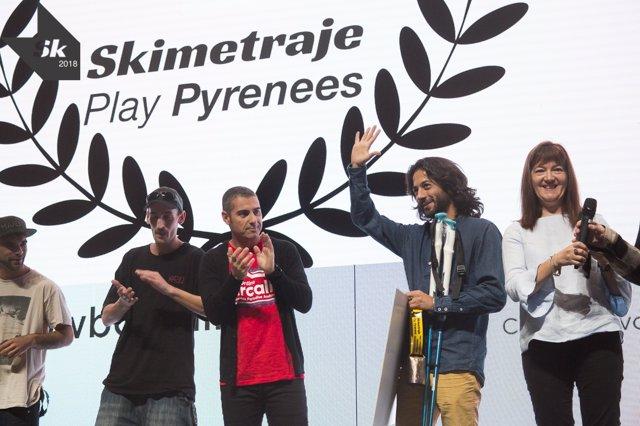 Alberto Collantes, premio al mejor cortometraje en Skimetraje 2018