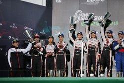 Motor.- Alonso acaba segon a les 6 Hores de Shanghai després d'una estranya estratègia de Toyota (TOYOTA GAZOO RACING WEC)