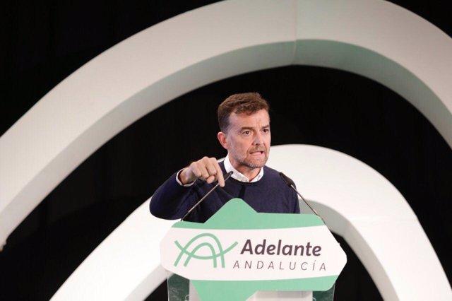 El candidato a la Vicepresidencia de la Junta por Adelante, Antonio Maíllo