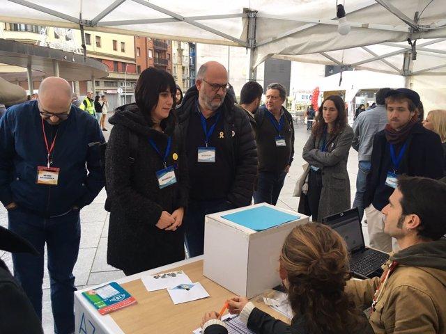 Pujol y Malaula en las consultas por la independencia en el País Vasco