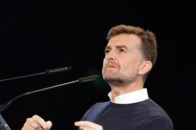 El candidato a la Vicepresidencia de la Junta, Antonio Maíllo
