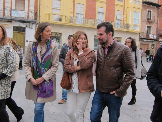 Valladolid.- Maroto, López y Tudanca hoy en Medina del Campo