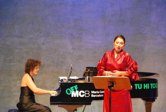 La soprano Montserrat Martí Caballé