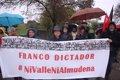 DOS CENTENARES DE PERSONAS EXIGEN QUE LOS RESTOS DE FRANCO NO REPOSEN NI EN ESA BASILICA NI EN LA ALMUDENA