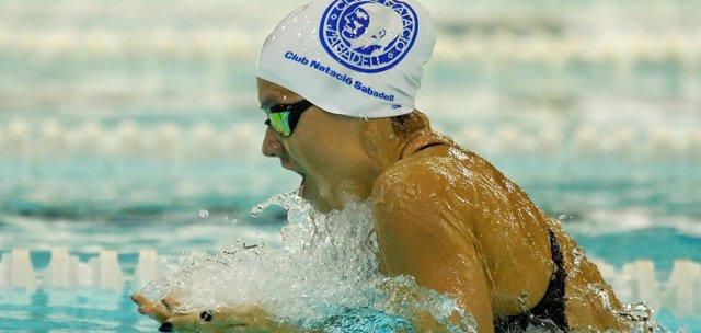 La nadadora española Catalina Corró (CN Sabadell)
