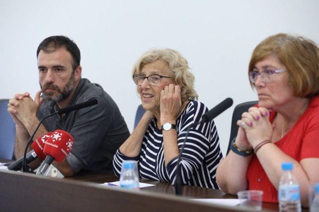 La alcaldesa, Manuela Carmena, participa en Hortaleza en 'Un mes, un distrito'