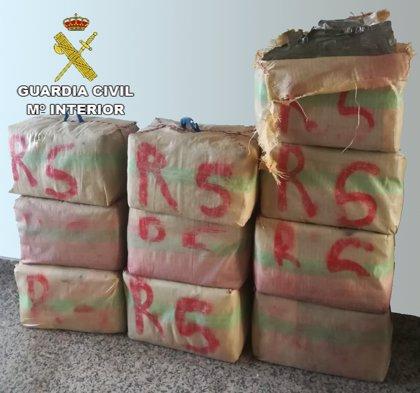 Detenido en Ciudad Real por portar 350 kilos de hachís y darse a la fuga en un control