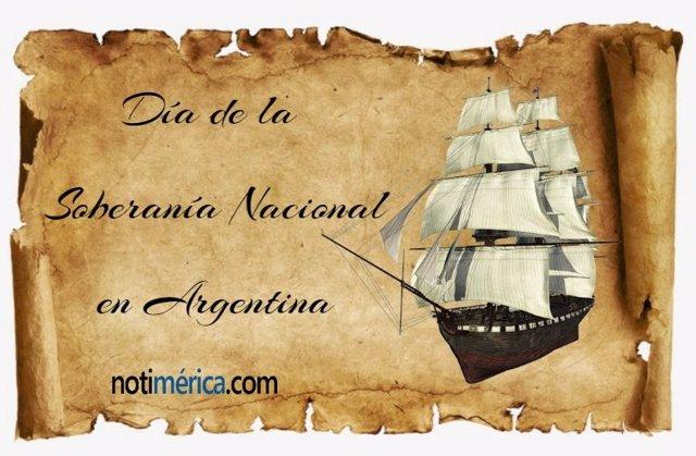 Día de la Soberanía NAcional en Argentina