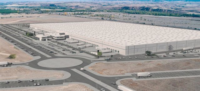 Centro logístico de XPO Logistics en Marchamalo