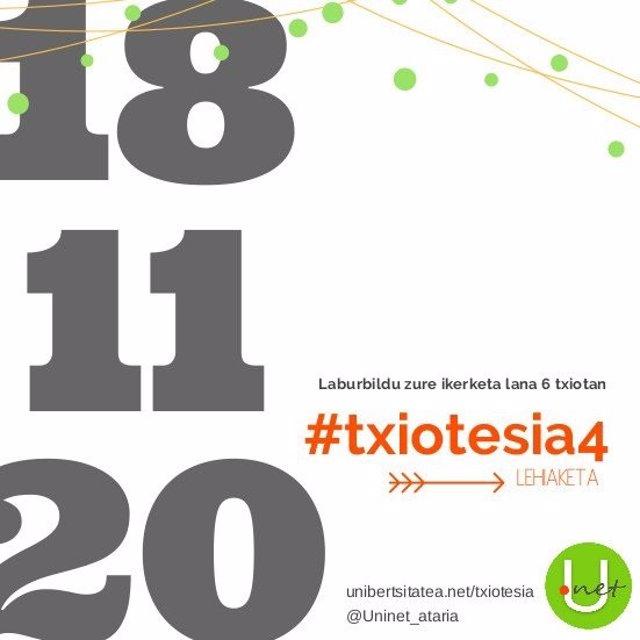 #Txiotesia4 Lehiaketa Asteartean