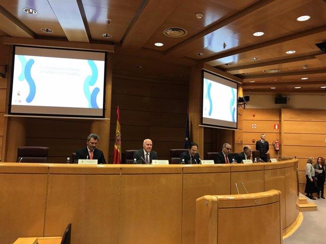 Presentación del informe La legislación frente al tabaco en España