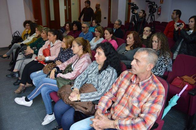 Participantes en el taller de empleo Gestionali@ de San Juan.