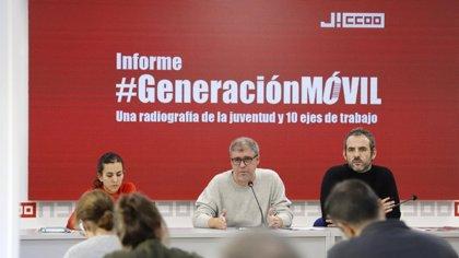 """CCOO denuncia que los jóvenes en España viven una """"mili laboral"""" de precariedad y bajos salarios"""
