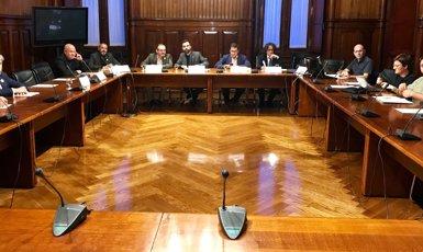 El Parlament constitueix la comissió que abordarà la investidura telemàtica de Puigdemont (Europa Press)