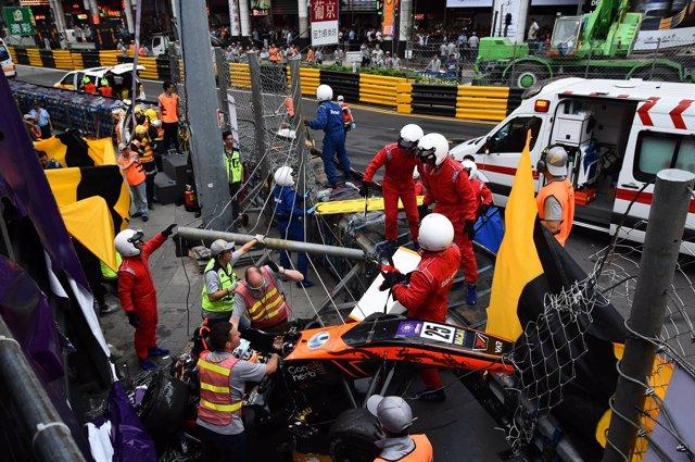 Accidente Sophia Floersch Fórmula 3 Gran Premio Macao Macau