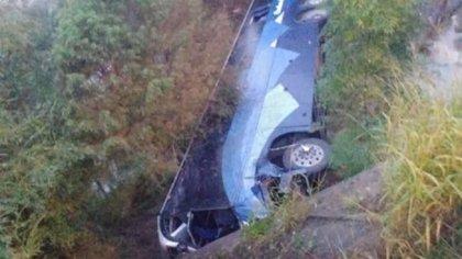 Al menos 7 muertos y 14 heridos tras un accidente de autobús en México