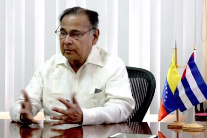 Muere a los 81 años el embajador de Venezuela en Cuba, Alí Rodríguez