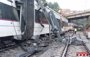 El descarrilamiento de un tren en Vacarisses (Barcelona), en imágenes y vídeos