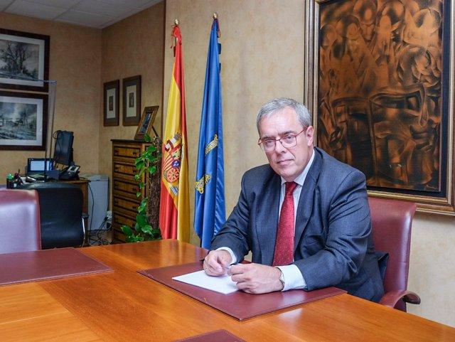 Nuevo presidente de Hunosa, Gregorio Rabanal