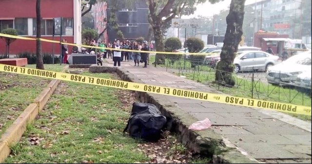Hallazgo de la maleta en cuyo interior estaba el cuerpo de la niña de 14 años