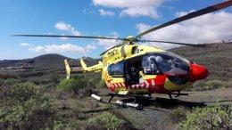 Helicóptero medicalizado del SUC