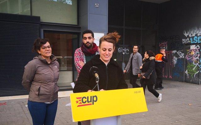 La CUP llama a desobedecer la Ley de extranjería y tilda a Grande-Marlaska de 'racista'