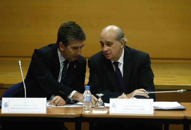 Jorge Fernández Díaz e Ignacio Cosidó