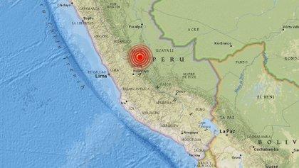 Un doble sismo de 5,7 y 4,8 grados sacuden el centro de Perú