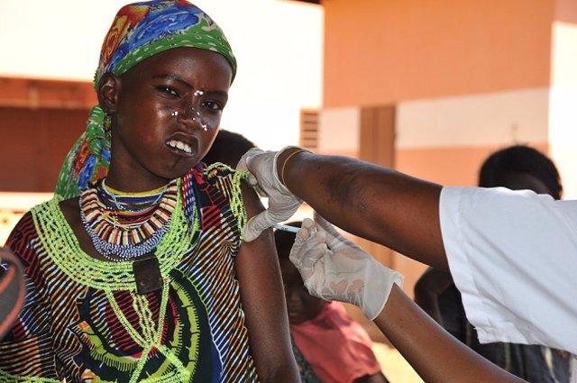 Vacunación de la meningitis A